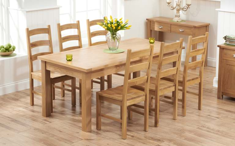 Buyers Advice For Purchasing Oak Dining Furniture - All Eyes ...